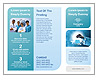 Chemistry Test Tube Brochure Template