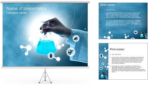 Chimie Tube à essai Modèles des présentations  PowerPoint