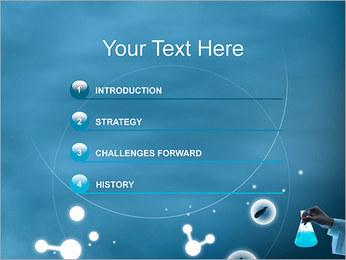Chimie Tube à essai Modèles des présentations  PowerPoint - Diapositives 3