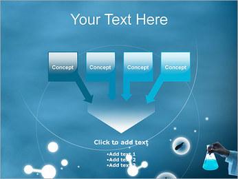 Chimie Tube à essai Modèles des présentations  PowerPoint - Diapositives 8