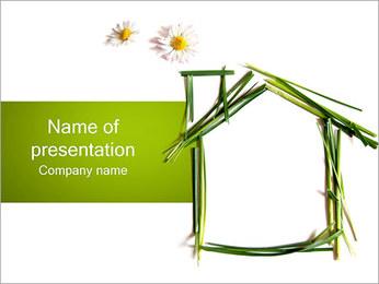 Green House Plantillas de Presentaciones PowerPoint