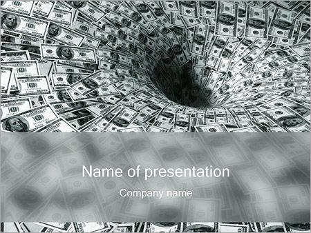 Dólares embudo Plantillas de Presentaciones PowerPoint