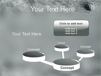 Dollars entonnoir Modèles des présentations  PowerPoint - Diapositives 9