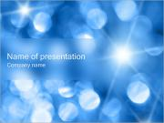 Blue Shine PowerPoint Templates