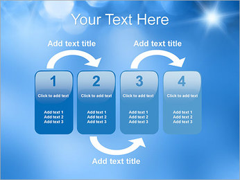 Blue Shine PowerPoint Template - Slide 11