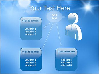 Blue Shine PowerPoint Template - Slide 12
