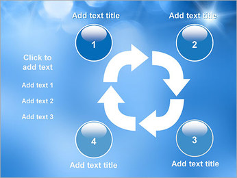 Blue Shine PowerPoint Template - Slide 14