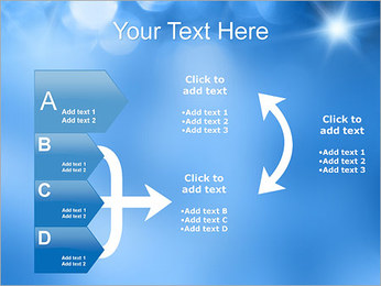 Blue Shine PowerPoint Template - Slide 16