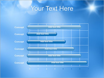 Blue Shine PowerPoint Template - Slide 17