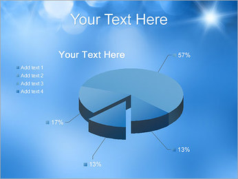 Blue Shine PowerPoint Template - Slide 19
