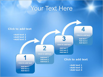 Blue Shine PowerPoint Template - Slide 20