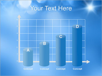 Blue Shine PowerPoint Template - Slide 21