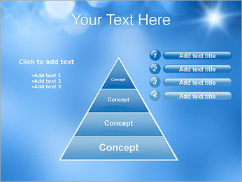 Blue Shine PowerPoint Template - Slide 22