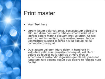 Blue Shine PowerPoint Template - Slide 24