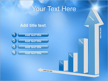 Blue Shine PowerPoint Template - Slide 6