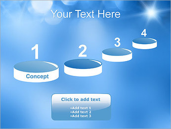 Blue Shine PowerPoint Template - Slide 7