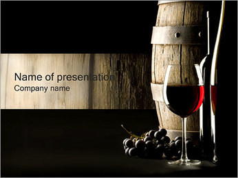 Red Wine PowerPoint Template