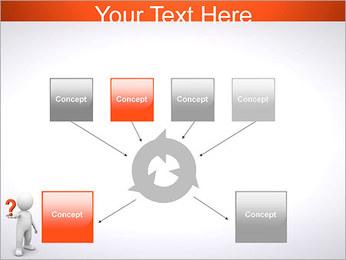 Man Holding Pergunta Modelos de apresentações PowerPoint - Slide 10