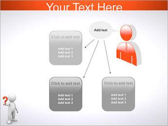 Man Holding Pergunta Modelos de apresentações PowerPoint - Slide 12
