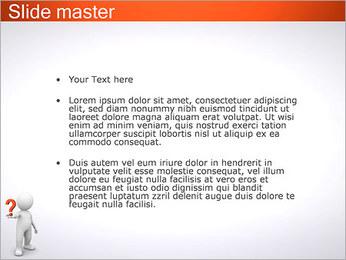 Man Holding Pergunta Modelos de apresentações PowerPoint - Slide 2