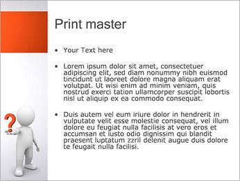 Man Holding Pergunta Modelos de apresentações PowerPoint - Slide 24