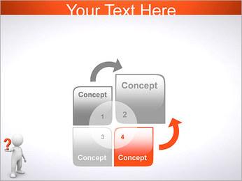 Man Holding Pergunta Modelos de apresentações PowerPoint - Slide 5