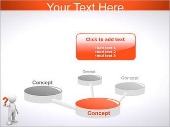 Man Holding Pergunta Modelos de apresentações PowerPoint - Slide 9