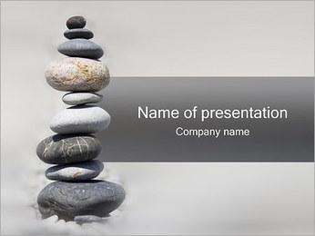 Stone Tower PowerPoint Template