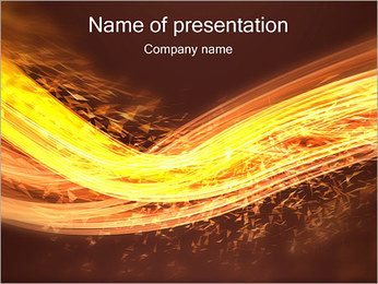 Power Wave PowerPoint Template