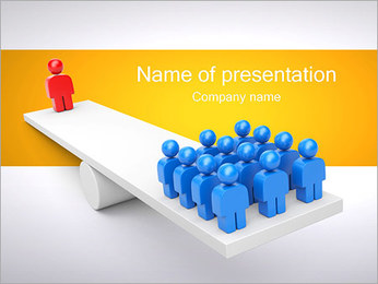 One vs All PowerPoint Template