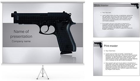 Pistol PowerPoint Template