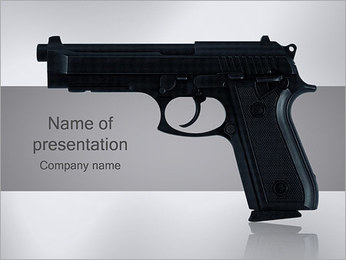 Pistol PowerPoint Template