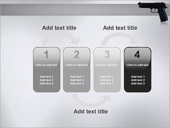 Pistol PowerPoint Template - Slide 11