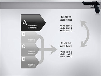 Pistol PowerPoint Template - Slide 16