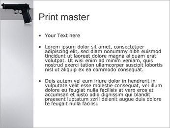 Pistol PowerPoint Template - Slide 24