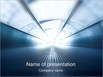 Light at the End of Tunnel PowerPoint Template