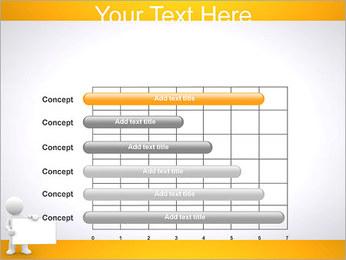 Pessoa e placa em branco Modelos de apresentações PowerPoint - Slide 17