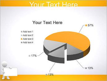 Pessoa e placa em branco Modelos de apresentações PowerPoint - Slide 19