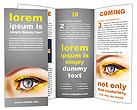 Woman Eye Brochure Templates