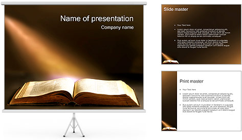 old book powerpoint template backgrounds id 0000001338