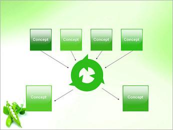 Pois frais Modèles des présentations  PowerPoint - Diapositives 10