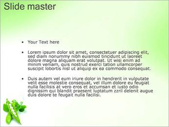 Pois frais Modèles des présentations  PowerPoint - Diapositives 2