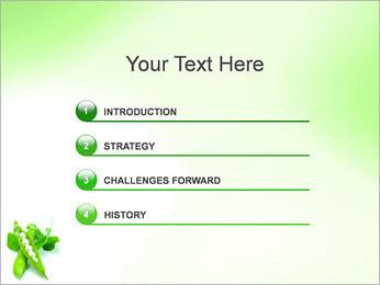 Pois frais Modèles des présentations  PowerPoint - Diapositives 3