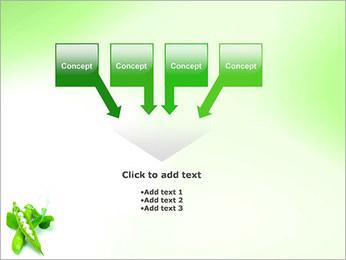 Pois frais Modèles des présentations  PowerPoint - Diapositives 8