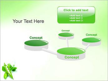Pois frais Modèles des présentations  PowerPoint - Diapositives 9