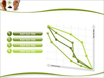 Les mains et les plantes Modèles des présentations  PowerPoint - Diapositives 13