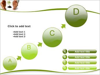 Les mains et les plantes Modèles des présentations  PowerPoint - Diapositives 15