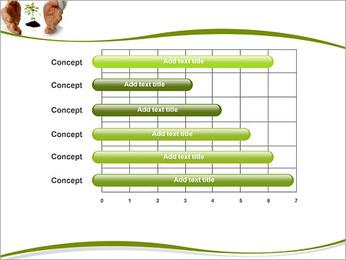 Les mains et les plantes Modèles des présentations  PowerPoint - Diapositives 17
