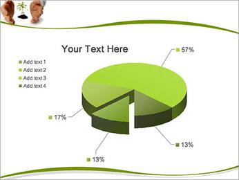 Les mains et les plantes Modèles des présentations  PowerPoint - Diapositives 19