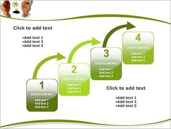 Les mains et les plantes Modèles des présentations  PowerPoint - Diapositives 20